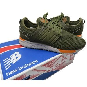 NEW BALANCE  Men's 247 KNIT Sneakers size: 10